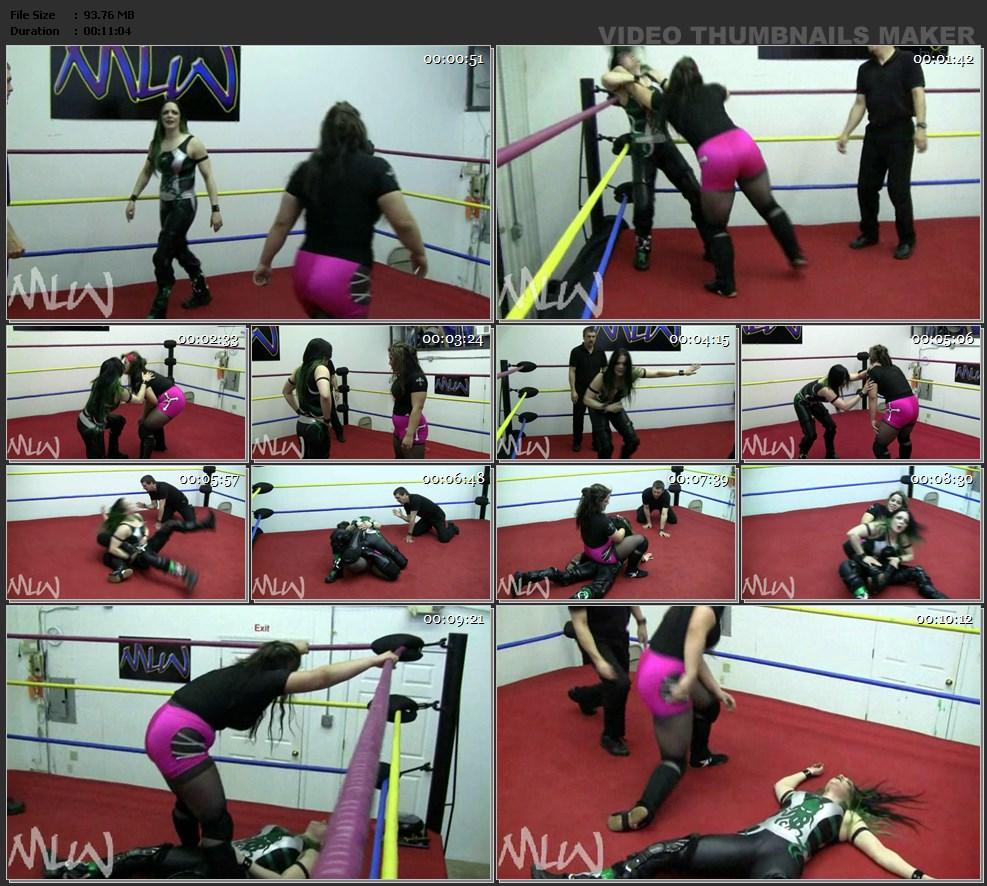 677 - Aleida Ortiz vs MsChif 2010   Magnificent Ladies Of ...